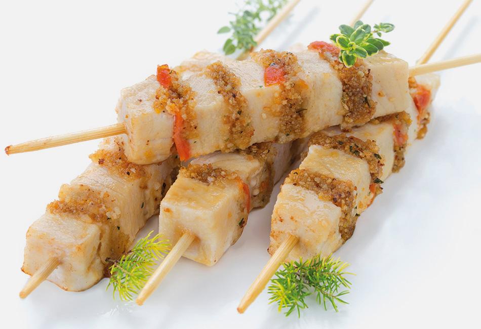 pesce spada sashimi allo spiedo